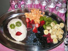 spa birthday party ideas for girls | also made this fruit dip mask - inspired by this Mexican Dip mask on ...