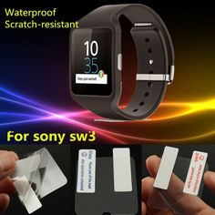 G, Ultra-thin HD Screen Protector Film For Sony Smart Watch 3 Smartwatch