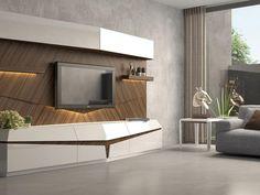 Modern Tv Cabinet, Modern Tv Wall Units, Tv Cabinet Design, Tv Unit Design, Tv Wall Design, House Design, Tv Unit Decor, Tv Wall Decor, Tv Unit Furniture