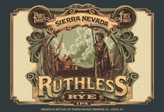 Not only another great Sierra Nevada craft brew, but their best packaging artwork to date (and they've always had aesthetically pleasing packaging in my opinion).
