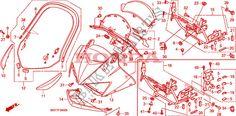 UPPER COWL Honda microfiche motorcycle XL1000VA8 2009 XL 1000 VARADERO ABS…