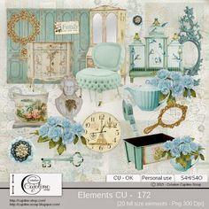 CAJOLINE-SCRAP: Elements CU - 172