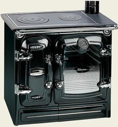 Wood-burning cook stove... love this!