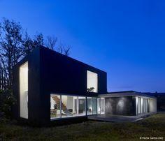 EINS House. Architects: Óscar Pedrós  Location: O Valiño, Oleiros, A Coruña, Spain