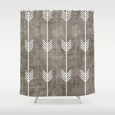 dirty arrows Shower Curtain by Holli Zollinger