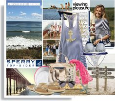 """""""Pack for Vacationland with Sperry Top-Sider"""" by hamaly ❤ liked on Polyvore"""