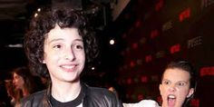 Image result for millie bobby brown and finn wolfhard