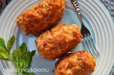 Ryba nawigilię dla dzieci Cooking With Kids, Tandoori Chicken, Kids Meals, Cauliflower, Muffin, Food And Drink, Healthy Recipes, Healthy Food, Vegetables