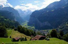 Wengen offers great views of the Lauterbrunnen Valley, a Swiss Shangri-la.