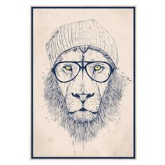 Hipster Bedroom Wall Decal