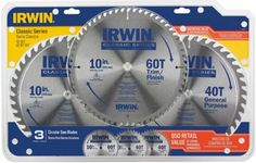 Irwin Recalls 10-Inch Circular Saw Blade 3-Pack Due to Laceration Hazard Posed by Defective Packaging