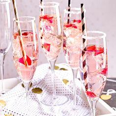 Aperitifs – erfrischende Begrüßungsdrinks - pink-drink  Rezept