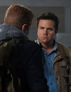 The Walking Dead Season 6 Episode 14 'Twice As Far' Eugene Porter and Abraham Ford