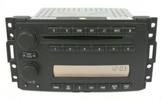 2005-07 Chevrolet Uplander AM FM Radio Compact Disc Player Part Number 15224733