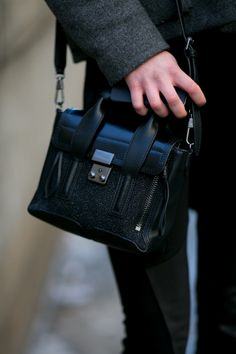 Best Street Style Shoes and Bags NY Fashion Week Fall 2014 ----  Get Up Close With Street Style's Best Accessories >>> Have we mentioned how much we love mini bags?