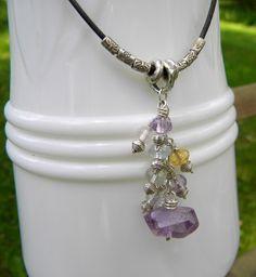 Gemdrop necklace