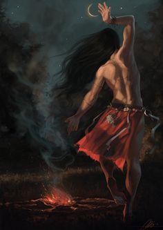 Witch by jodeee.deviantart.com on @DeviantArt