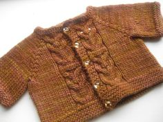 Hoot Cardigan pattern - cute!