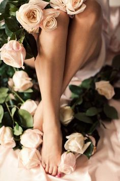 Soft pink Roses souloftheroseurluv: souloftheroseurluv ༺ ॐ A Sensual, Spiritual and Sophisticated blog ॐ ༻