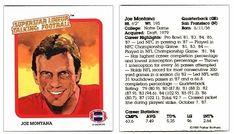 Joe Montana 1989 Parker Brothers Talking Football