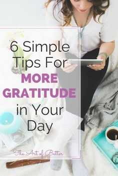 As we go through our busy days, it's easy to forget to express thanks for all we have. We run from one chore to another, from one scheduled activity to the next, all while our thoughts are on autopilot. We neglect to express gratitude throughout the day a