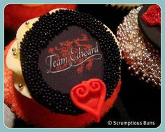 Twilight Saga Cupcakes