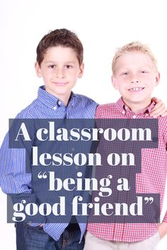 The lesson to use when a class needs a reminder on getting along with their friends -- and the things good friends do and don't do Middle School Counseling, Elementary School Counselor, Elementary Schools, Upper Elementary, Friendship Activities, Friendship Group, Special Needs Students, Guidance Lessons, Social Thinking