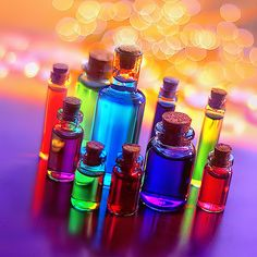 Bokeh Photography by Najwa 3 Taste The Rainbow, Over The Rainbow, Rainbow Things, Rainbow Stuff, World Of Color, Color Of Life, Bottles And Jars, Glass Bottles, Magic Bottles