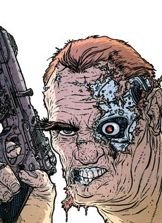 Terminator by Geof Darrow