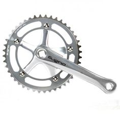 ZOOM: Sugino RD2-MC Kurbelgarnitur silber 42 Zähne | 172,5 mm All Terrain Bike, Silver, Mountain Biking
