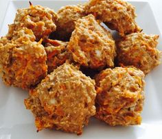 Proteinboller med gulerod og hytteost | Fitnesspigen