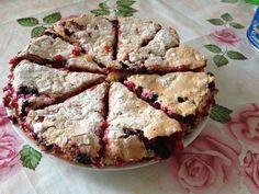 Recipe photo: Redcurrant tart