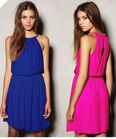 Stylish Cute Sleeveless Summer Dress