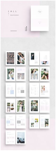 PHOTOSHOP TEMPLATES PHOTOGRAPHY BROCHURE TEMPLATE WEDDING MARKETING PHOTOGRAPHER CATALOG DESIGN PRICING GUIDE NEW CLIENT STUDIO PACKET BRIDAL MAGAZINE WELCOME LIST FOTOGRAFIE HOCHZEIT BRANDING