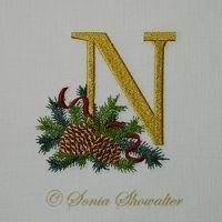 Winter Pines- N