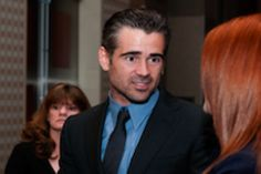 Irish actor Colin Farrell at the Foundation for Angelman Syndrome Therapeutics in Chicago on Saturday
