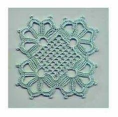 Узор motif with diagram Crochet Flower Squares, Crochet Motif, Crochet Flowers, Crochet Stitches, Crochet Hooks, Knit Crochet, Crochet Patterns, Knitting Projects, Doilies
