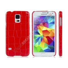 Carcasa divertida diseño cocodrilo para Galaxy S5 - Rediseña tu teléfono con el último grito en moda, si te gusta ir a la ultima porque no llevar tu dispositivo chic con esta Carcasa divertida diseño cocodrilo para Galaxy S5