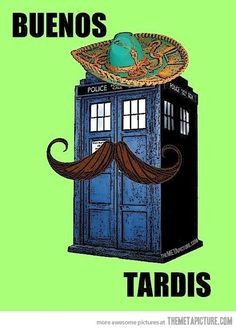 """""""There's something you'd better understand about me 'cause it's important, and one day your life may depend on it: I am definitely a mad man with a box!"""" Dr. Who"""