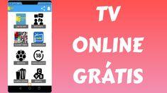 SAIU!!! Aplicativo INCRIVEL de TV ONLINE!! Smartphone, Calm, Tv, Apps, Television Set, Television