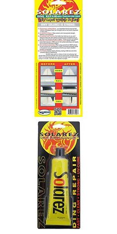 Wax 71166: Solarez Uv Cure Polyester Ding Resin - Surfboard Repair Kit (2 Oz), New -> BUY IT NOW ONLY: $113.2 on eBay!