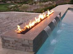 Fire and water - a beautiful mix