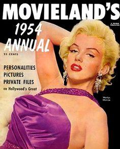 Marilyn Monroe - Movieland, 1954 Annual