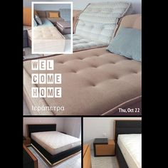 Καλώς ήρθατε στο χώρο σας.. #welcomehome #livingroom #sofa #bedroom #bed #matress #furniture #candiastrom #ierapetra #crete
