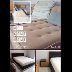 Καλώς ήρθατε στο χώρο σας.. #welcomehome #livingroom #sofa #bedroom #bed #matress #furniture #candiastrom #ierapetra #crete