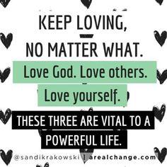 Keep loving! #BEMORE