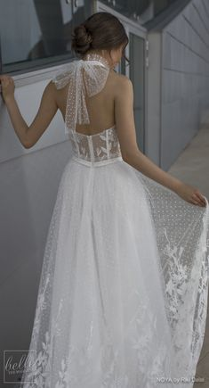 NOYA By Riki Dalal Wedding Dress Spring 2019 : Forever Bridal Collection - CHARLOTTE