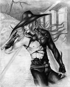 Vampire Hunter D by sraointe.deviantart.com on @deviantART