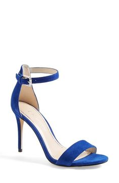 "Women's Enzo Angiolini 'Manna' Ankle Strap Sandal, 4"" heel"