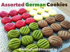Baking Taitai: German Melt-In-The-Mouth Butter Cookies 德国酥饼 (中英食谱)